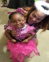 Amaris & Dallas dressed for Academy party!